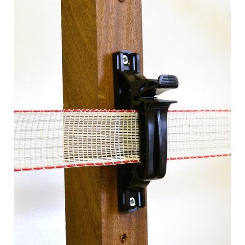 Hotline C45 Paddock Nail-On Tape Insulator with Thumb Lock Clip - Suitable for Tape up to 40mm - Equestrian Co.