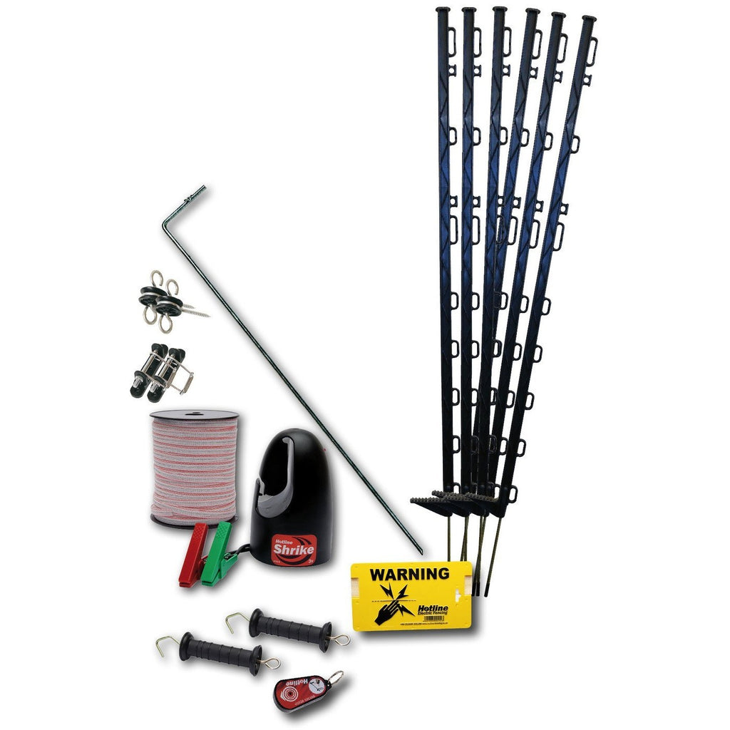 Hotline HK100 Horse Starter Electric Fence Kit-Equestrian Co.
