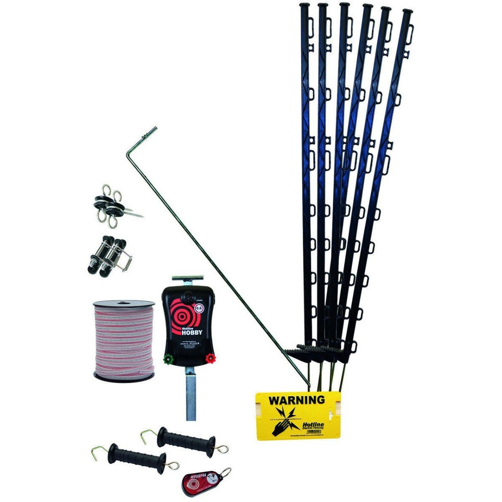 Hotline HK450 Handy Electric Fence Kit for Horses-Equestrian Co.