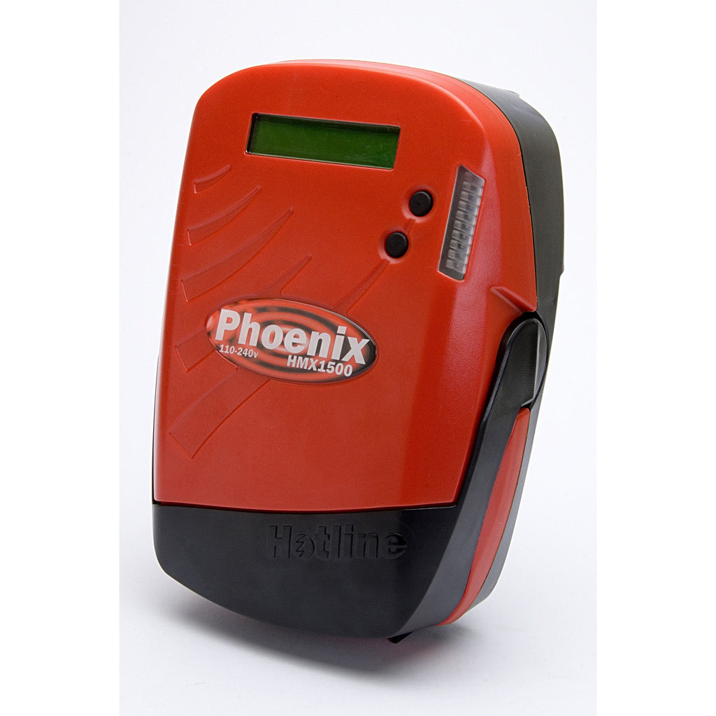 Hotline HMX1600 Phoenix 7-16j 230v Smart Electric Fence Energiser - Mains Input-Equestrian Co.