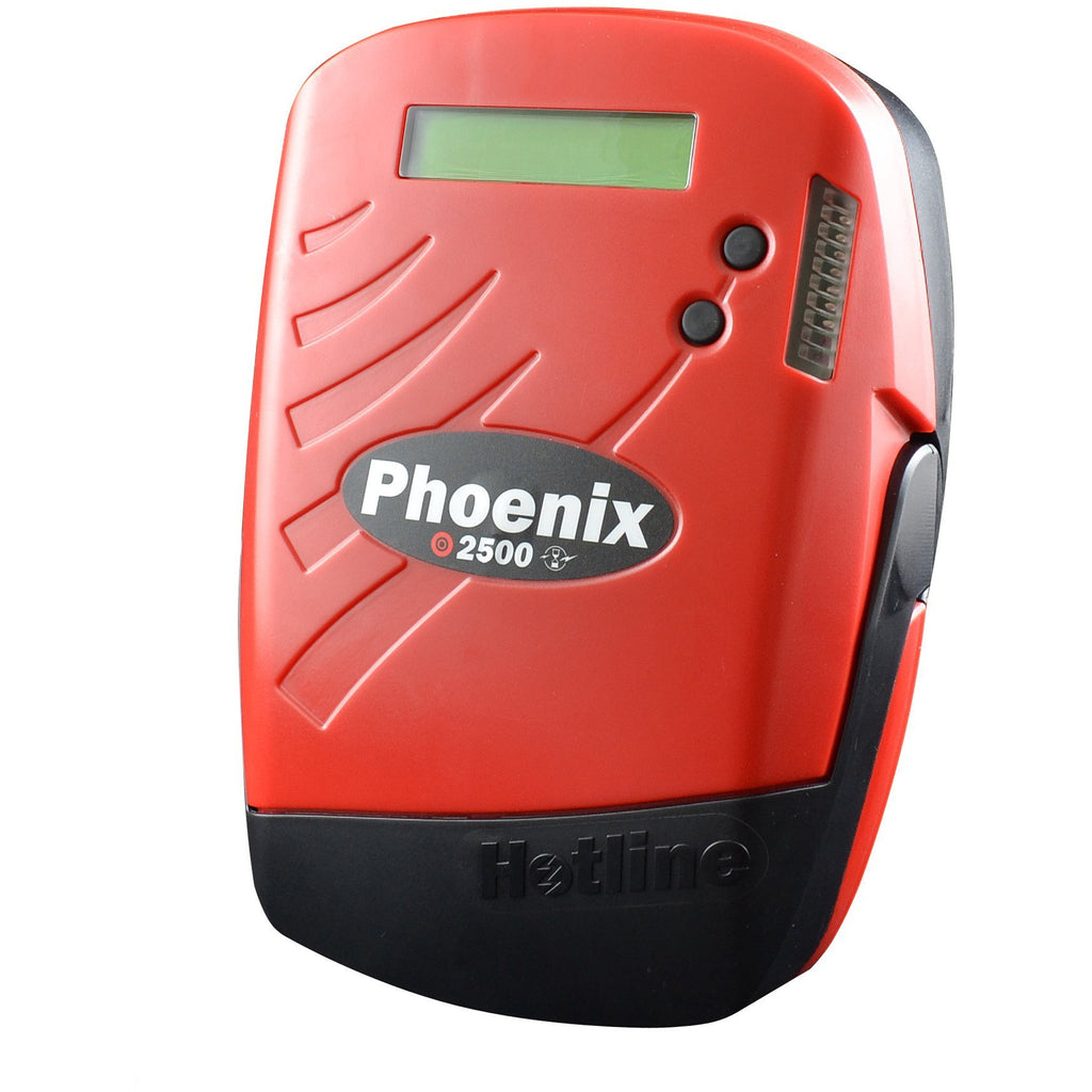 Hotline HMX2500 Phoenix 7-25j 230v Intelligent Electric Fence Energiser - Mains Input-Equestrian Co.