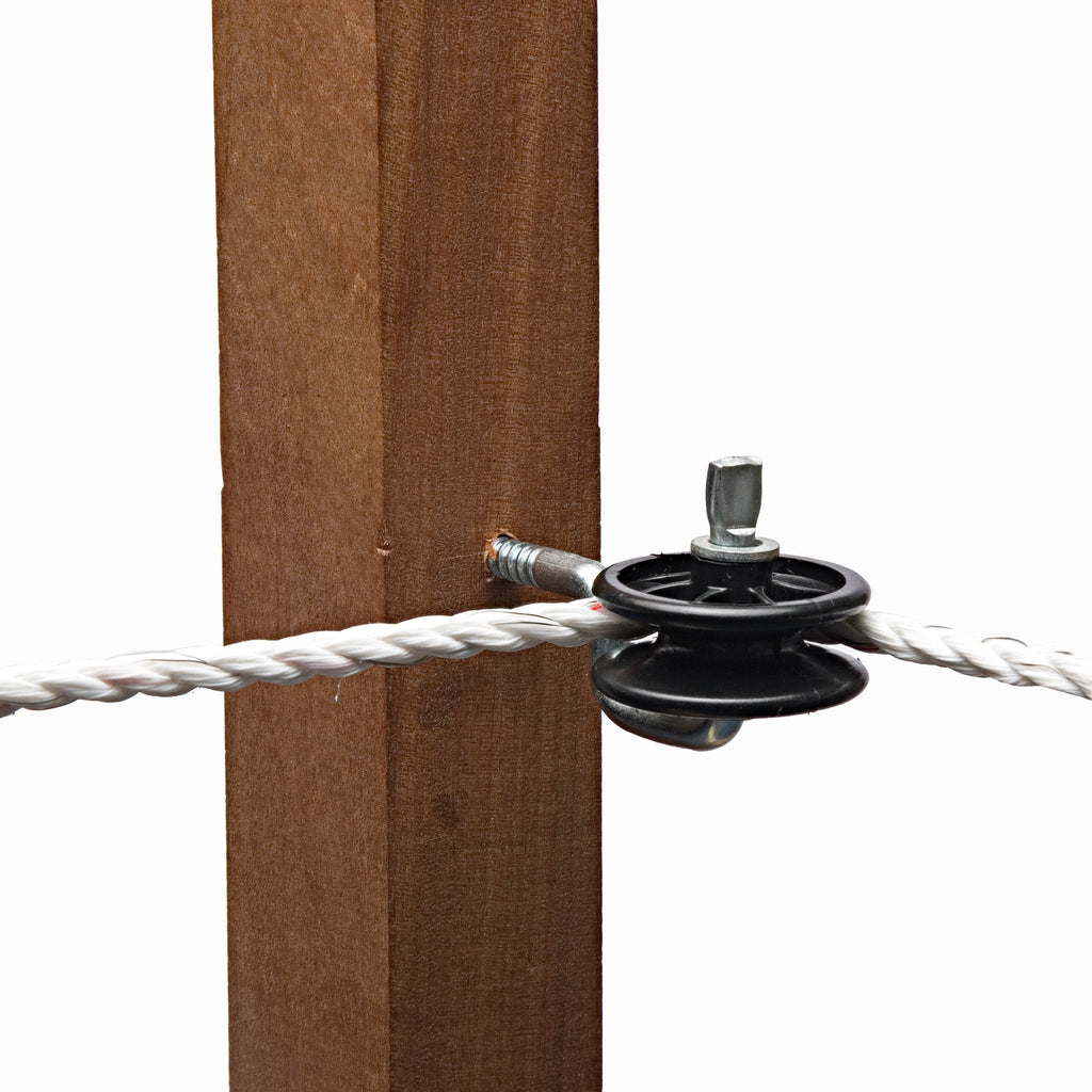 Hotline KS15 Pulley Straining Insulator for Corners and Terminations - 6 Insulators - Equestrian Co.