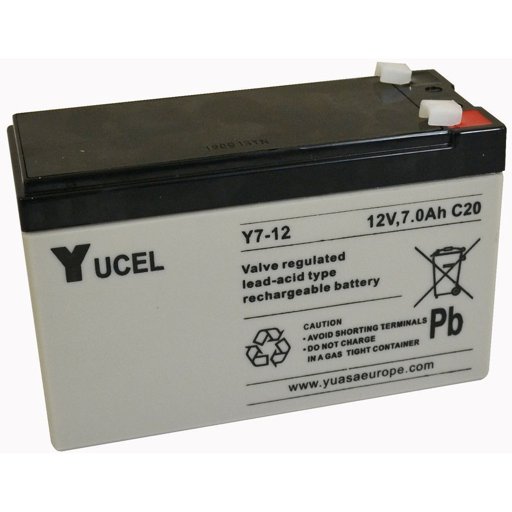 Yucel 12v AGM Batteries for Fire Drake Energisers