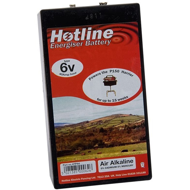 Hotline 6v Air Alkaline Battery for HLB150 Harrier Energiser-Equestrian Co.