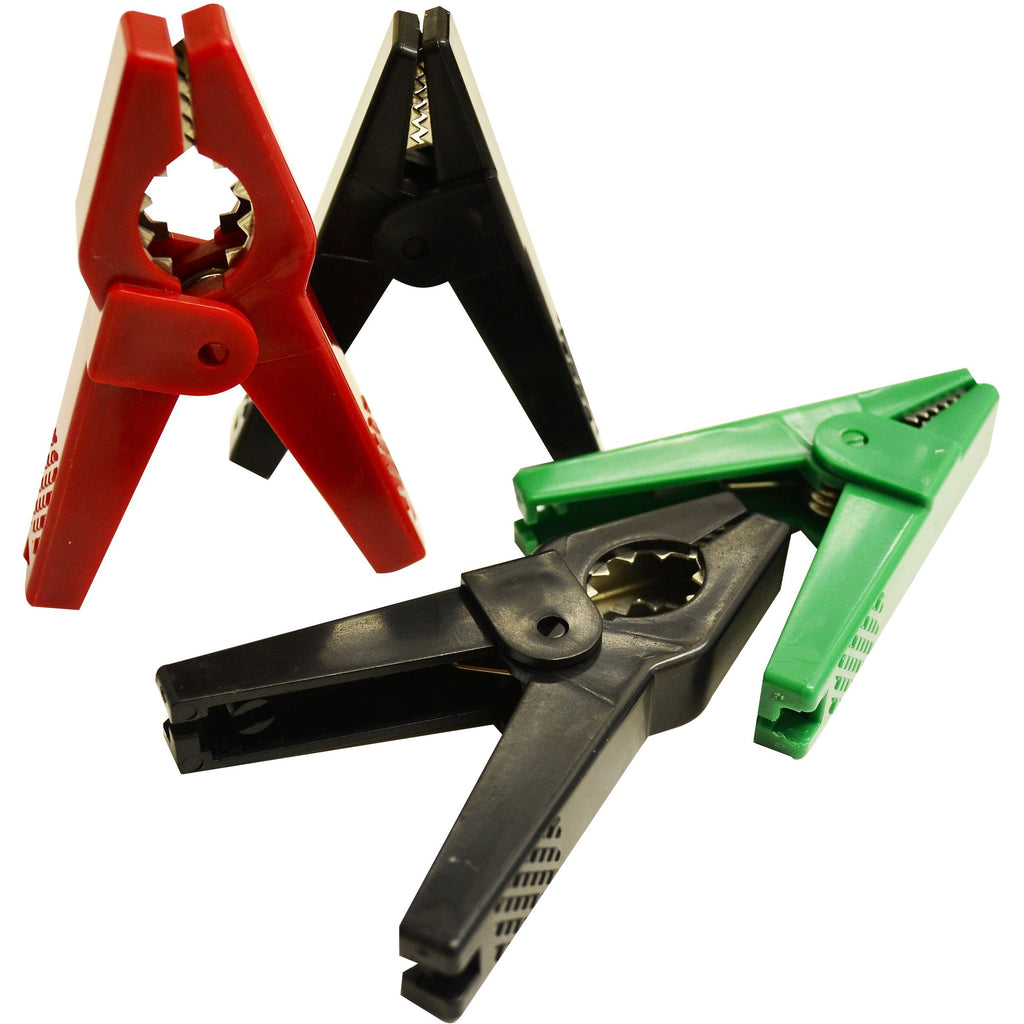 Hotline Large Plastic Crocodile Clips - 50 (Bulk)-Equestrian Co.