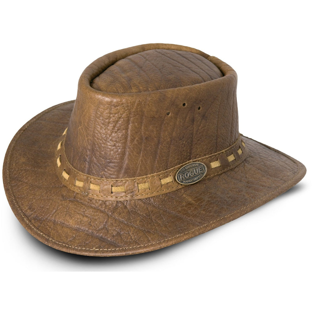 Rogue African Buffalo Leather Safari / Cowboy Hat-Equestrian Co.