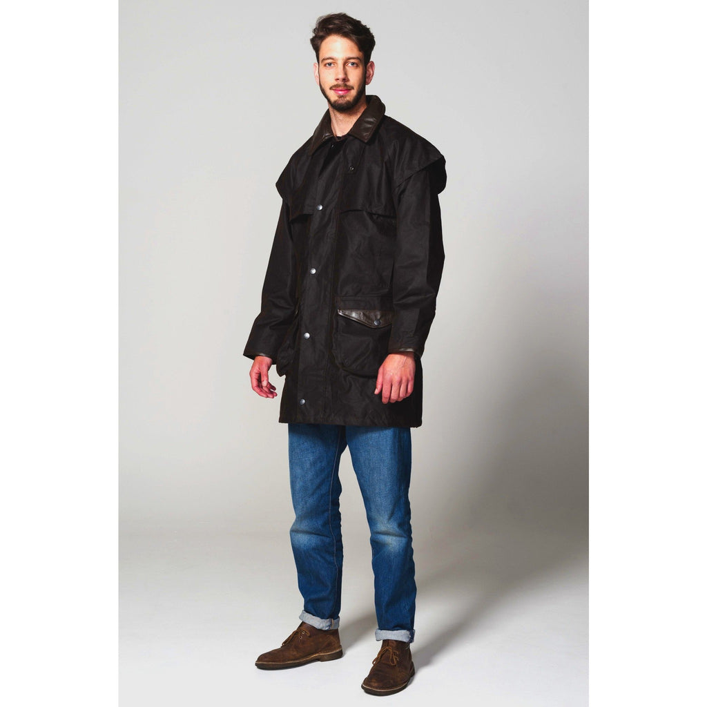 Hunter Outdoor Cumbrian Waxed Cotton Jacket (Free Tin of Wax)-Equestrian Co.