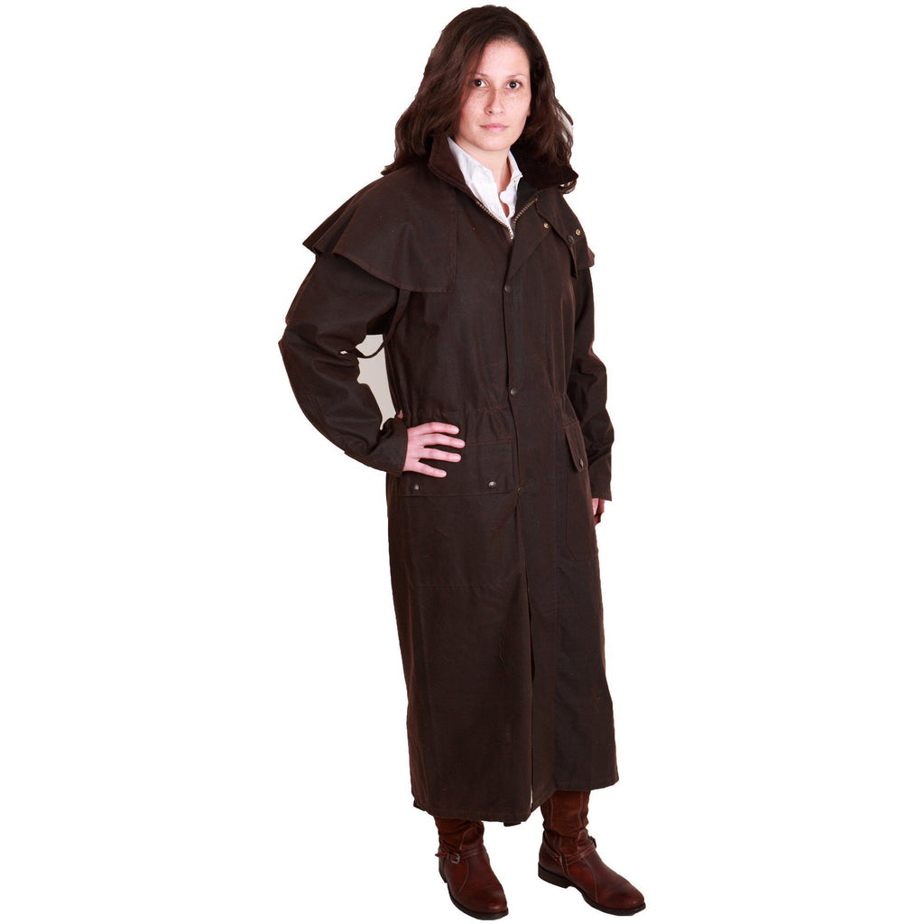 Hunter Outdoor Outback Classic Long Unisex Wax Coat - Equestrian Co. - 5