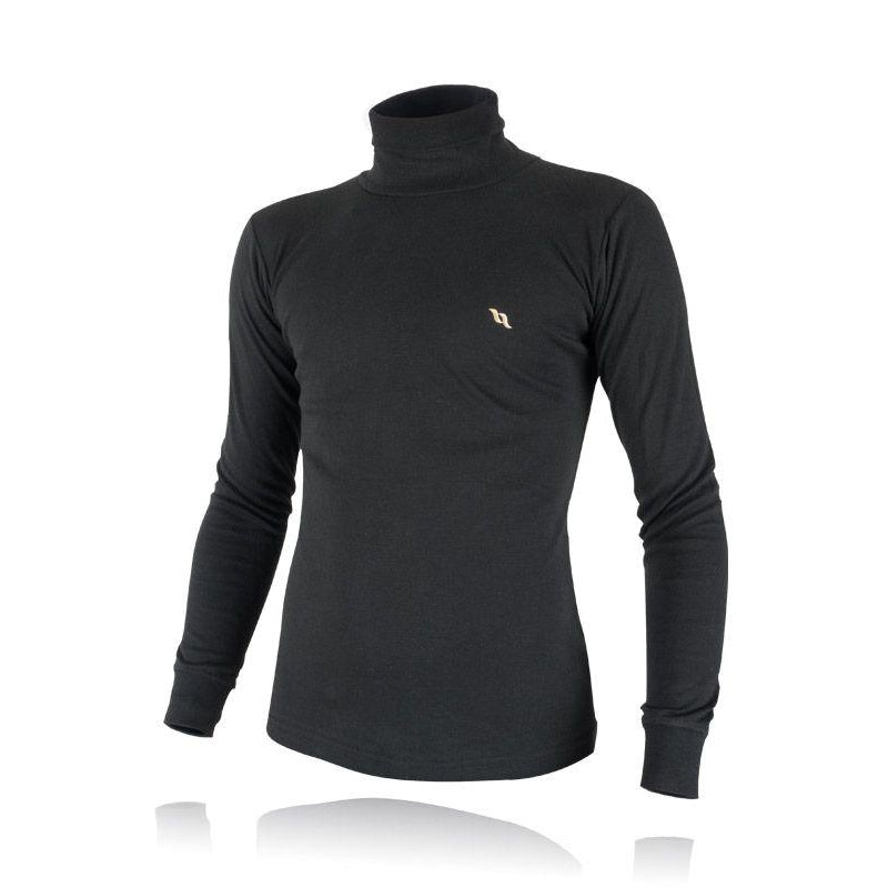 Back on Track® Black Men's Polo Neck Jumper / Sweater