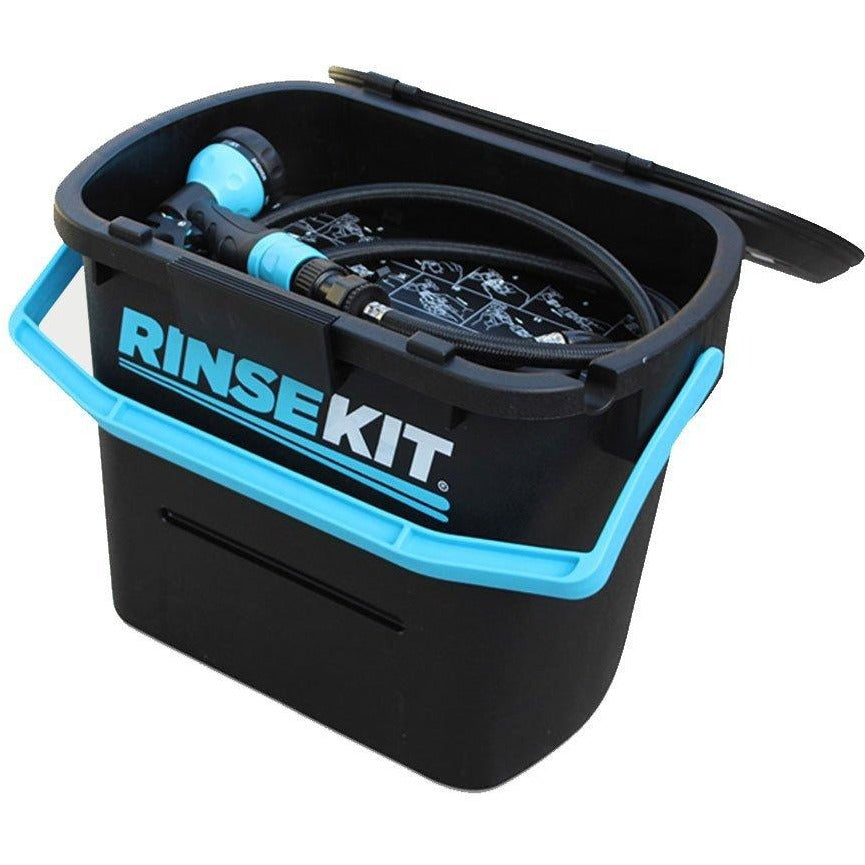 RinseKit Portable Pressurised Dog / Camping Shower / Sprayer-Equestrian Co.