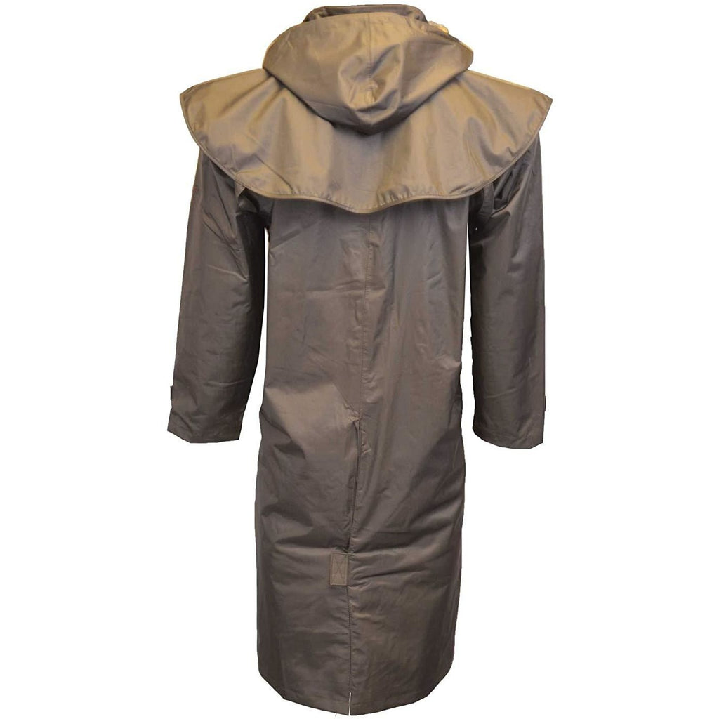 Walker & Hawkes Unisex Midland Waterproof Brown Rain Coat-Equestrian Co.