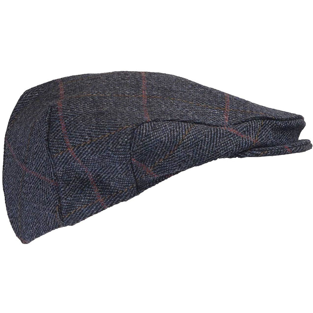 Walker & Hawkes Children's Shooting Blue Tweed Flat Cap-Equestrian Co.