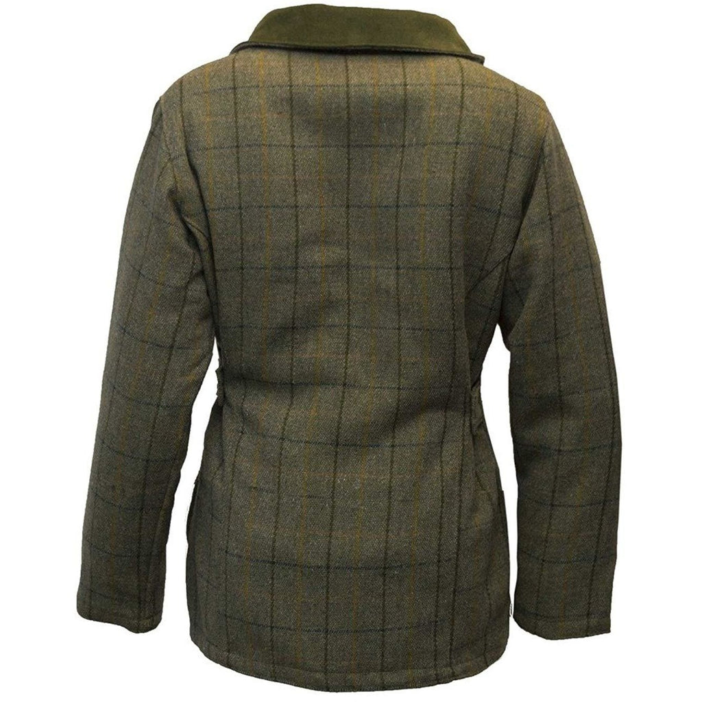 Walker & Hawkes Ladies' Navy Stripe Tweed Shooting Coat-Equestrian Co.