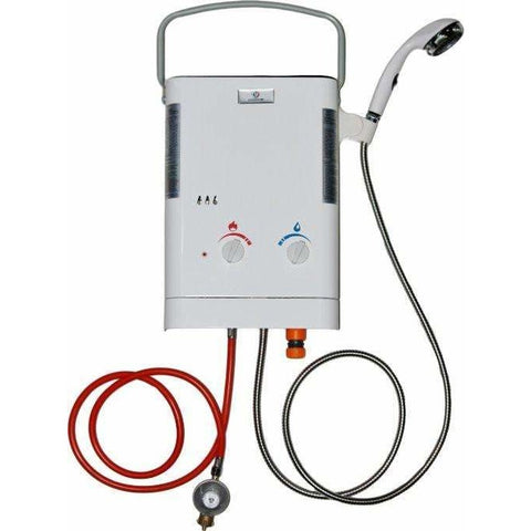 Eccotemp L5 37mbar Portable Tankless Outdoor Gas Shower and Water Heater / Hot Horse Shower