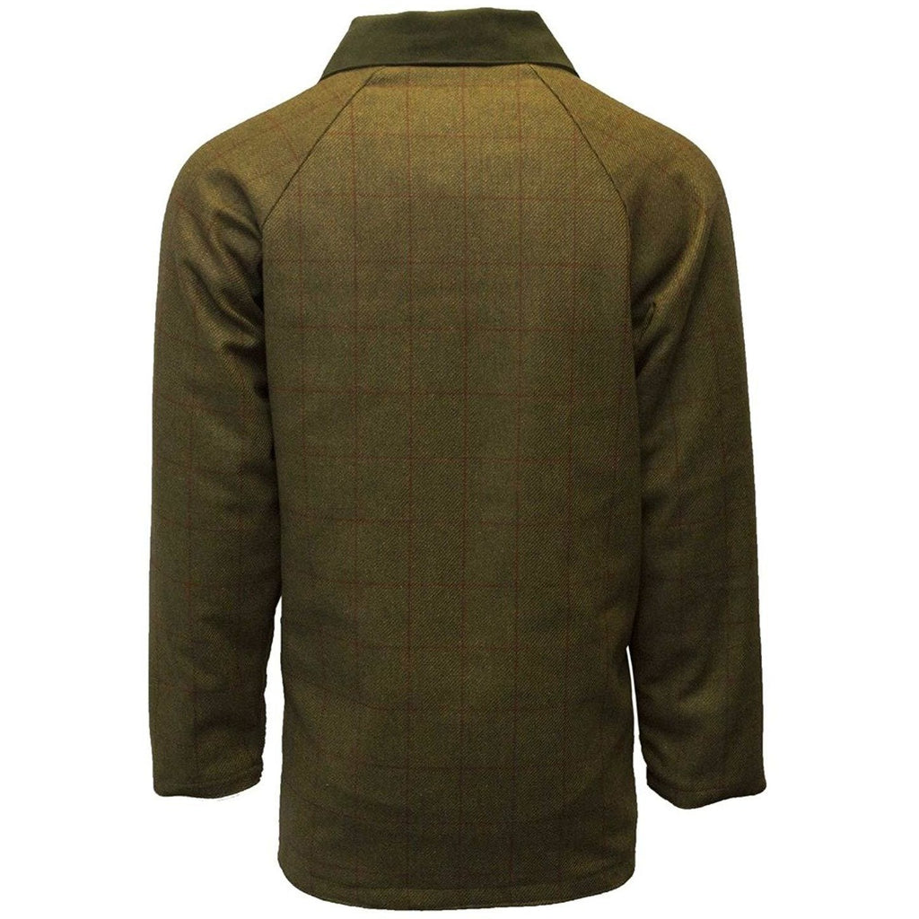 Walker & Hawkes Men's Red Stripe Tweed Shooting Coat / Jacket-Equestrian Co.