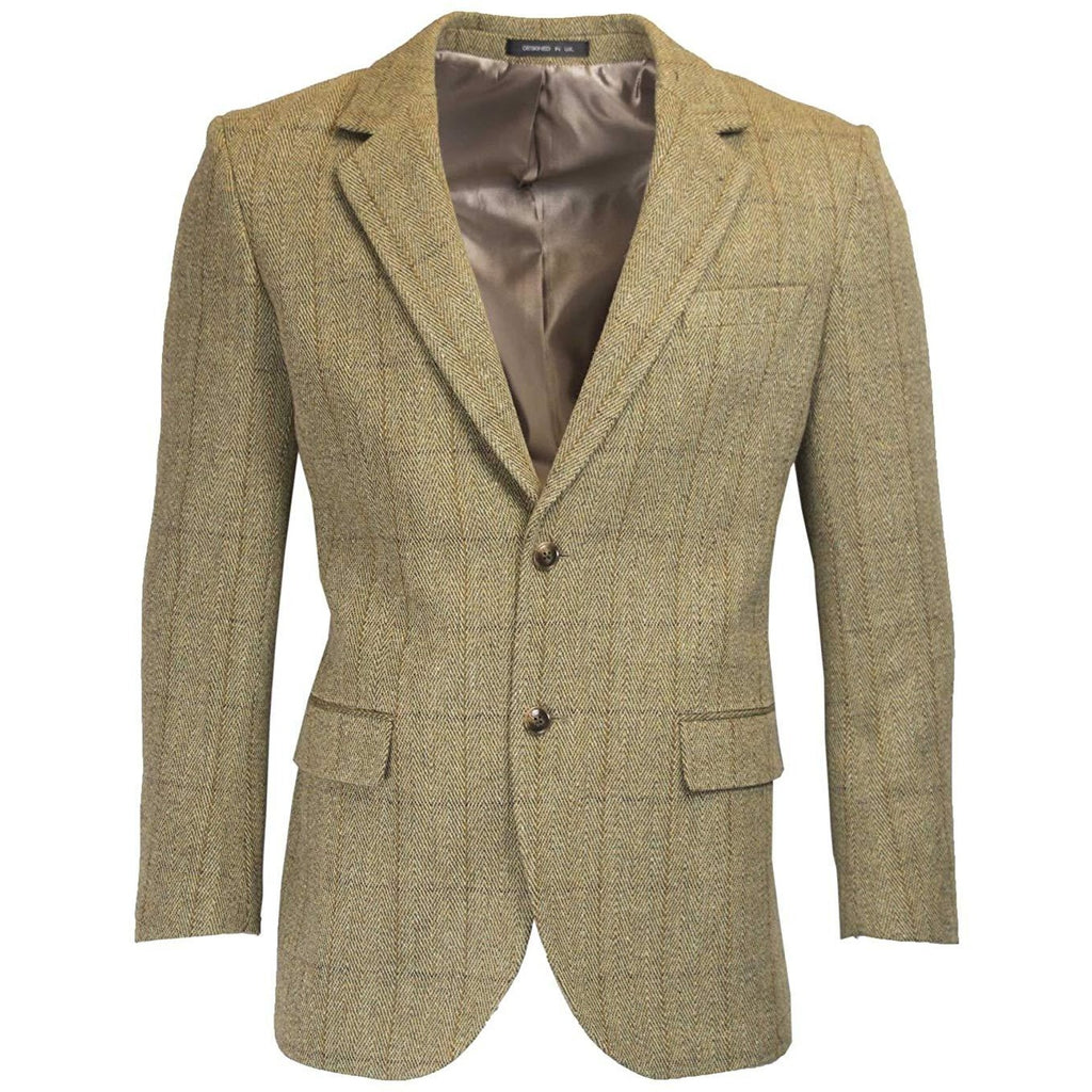 Walker & Hawkes Windsor Light Sage Tweed Country Blazer / Jacket
