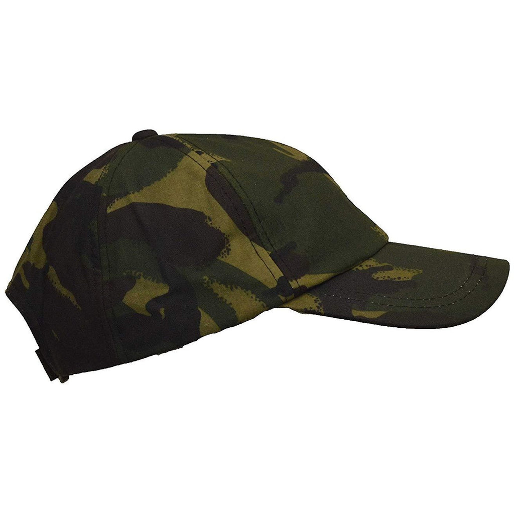 Walker & Hawkes Unisex Waterproof Camouflage Waxed Cotton Baseball Cap