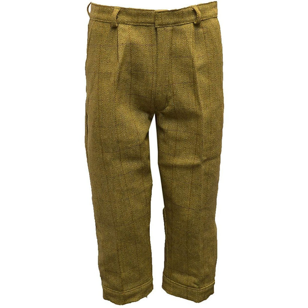 Walker & Hawkes Men's Light Sage Tweed Shooting Breeks / Plus Fours-Equestrian Co.