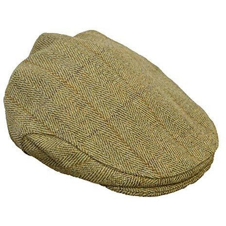 Walker & Hawkes Children's Shooting Light Sage Tweed Flat Cap-Equestrian Co.