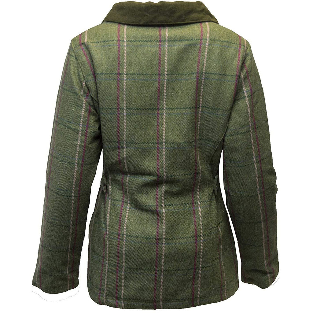 Walker & Hawkes Ladies' Pink Stripe Tweed Shooting Coat-Equestrian Co.