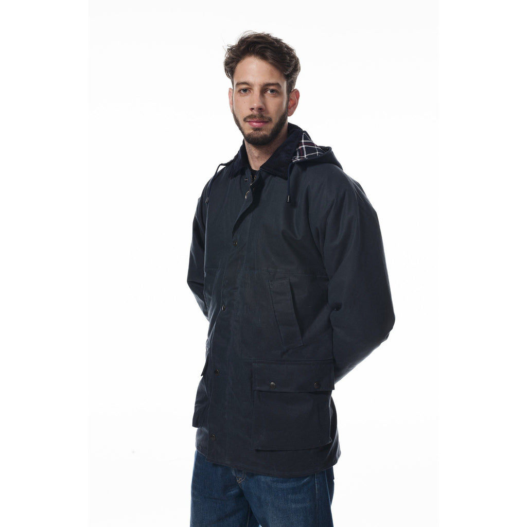 Hunter Outdoor Boulton Unisex Wax Jacket-Equestrian Co.