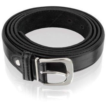 Woodland Leather Men's Hand Crafted Cow Hide Leather Classic Trouser Belt-Equestrian Co.