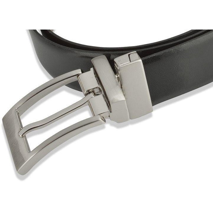 Woodland Leather Classic Unisex Reversible Belt-Equestrian Co.