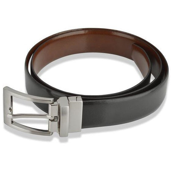 Woodland Leathers Classic Unisex Reversible Belt