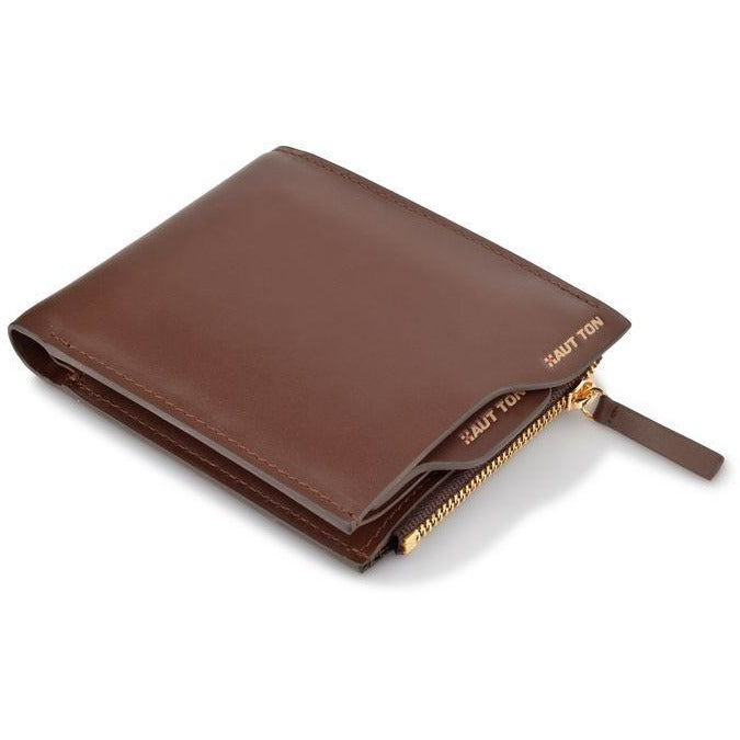 Woodland Leathers Gents' Classic Bi-Fold Hautton Leather Wallet - Equestrian Co. - 1