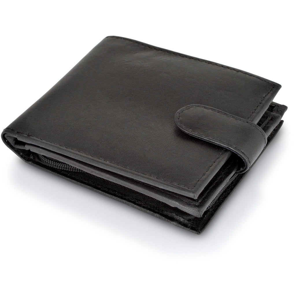 Woodland Leather Men's Classic Nappa Leather Wallet-Equestrian Co.