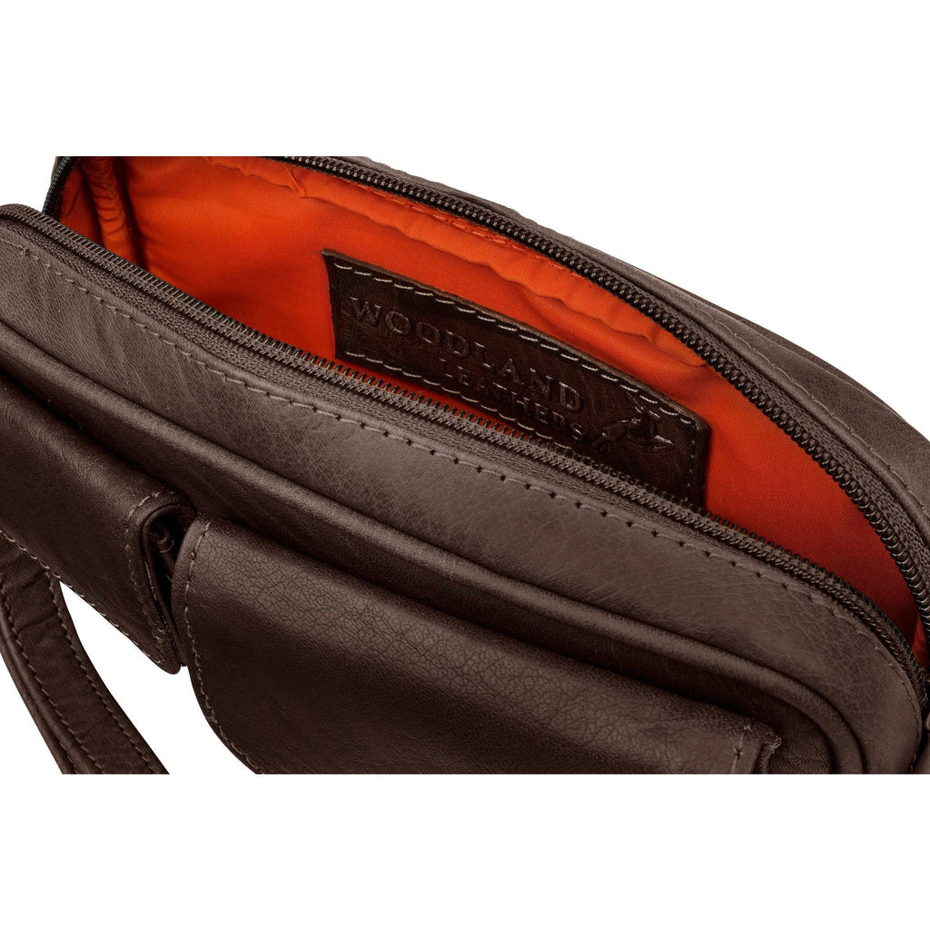 Woodland Leather Men's Wrist Bag - Multiple Colours-Equestrian Co.