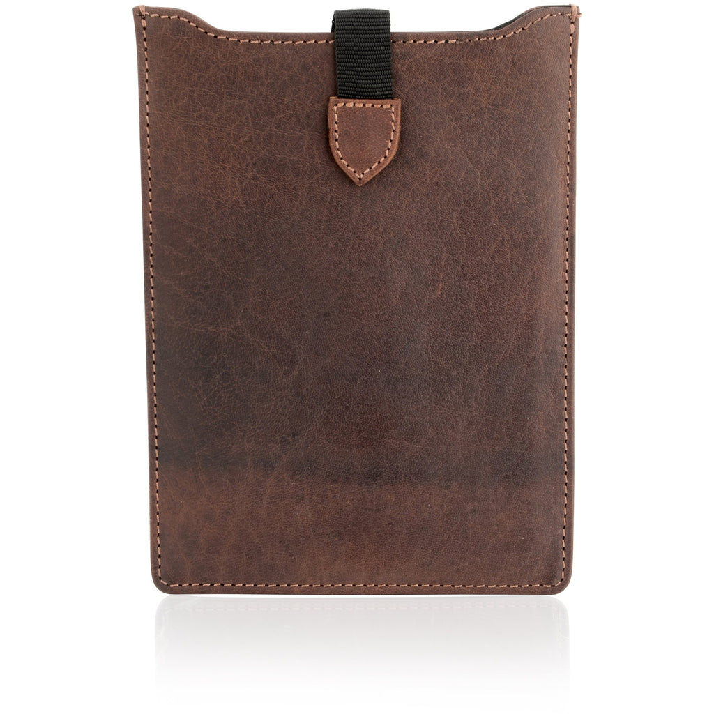 Woodland Leathers Naturally Stained Vintage Leather Tablet / iPad Case
