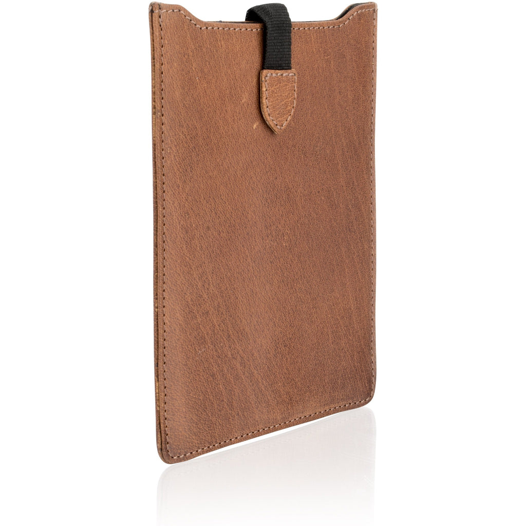 Woodland Leather Naturally Stained Vintage Leather Tablet / iPad Case