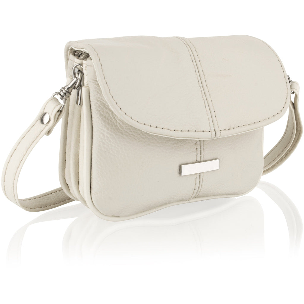 Lorenz Women's Petite Leather Cross-Body Bag - Multiple Colours
