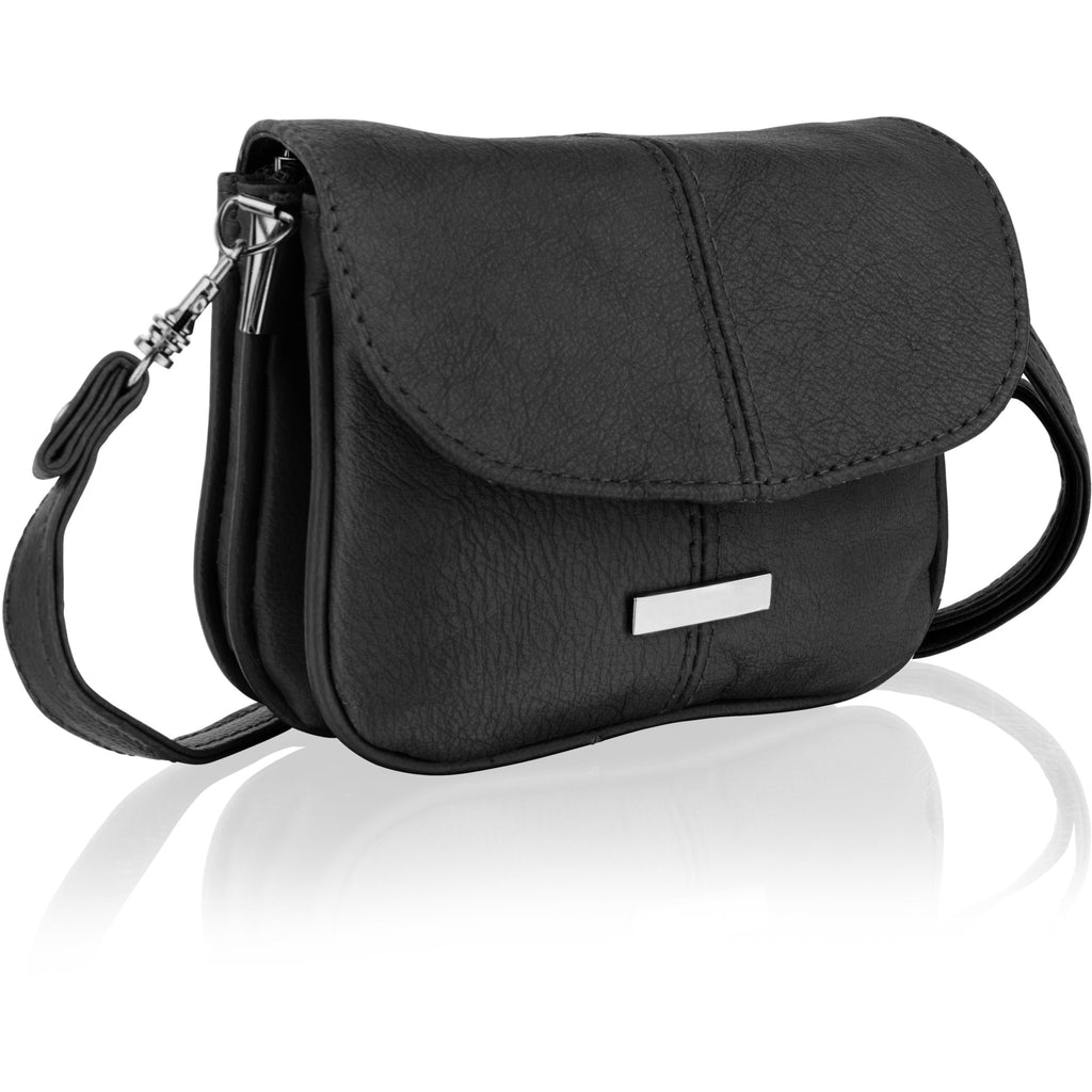 Lorenz Women's Petite Leather Cross-Body Bag - Multiple Colours-Equestrian Co.