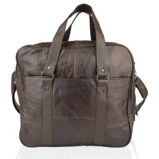 Lorenz Unisex Expandable Square Messenger Bag-Equestrian Co.