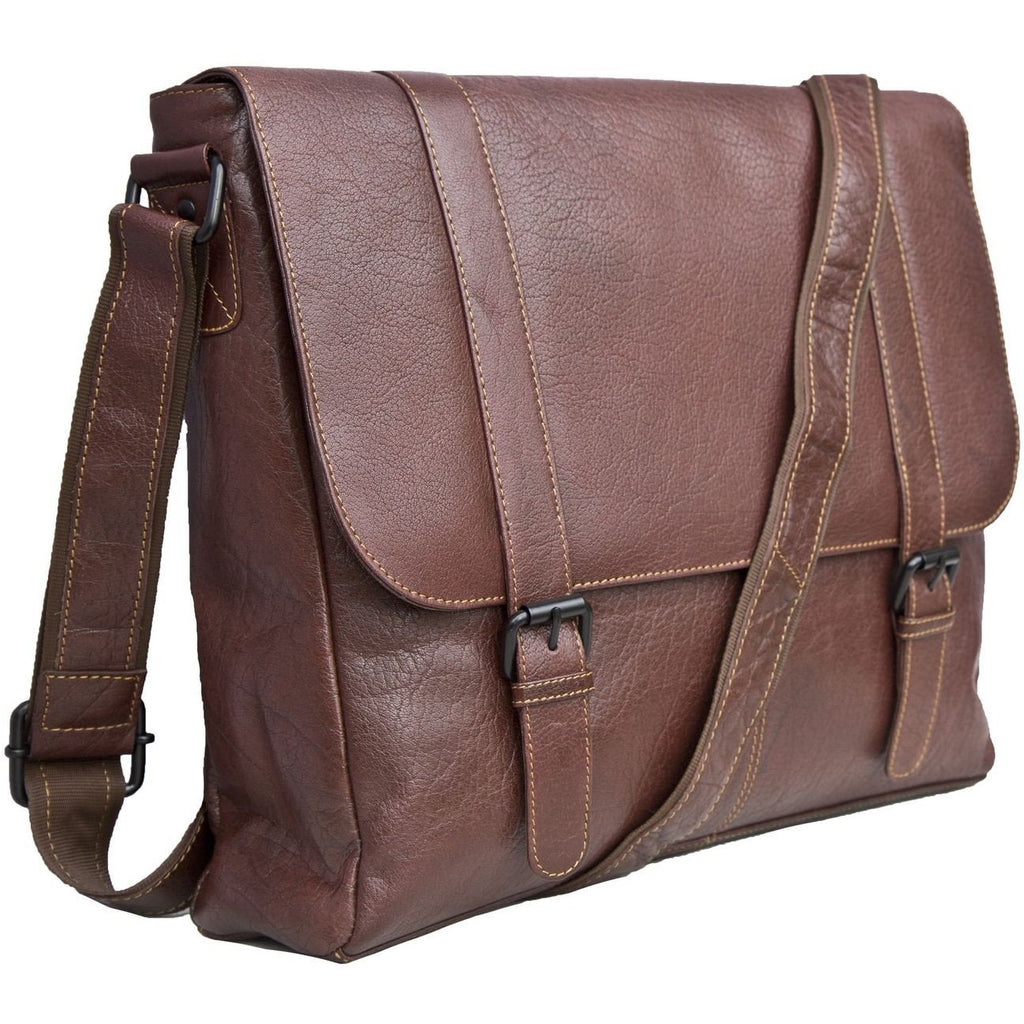 Woodland Leather Tribal High Grade Satchel Messenger Bag-Equestrian Co.
