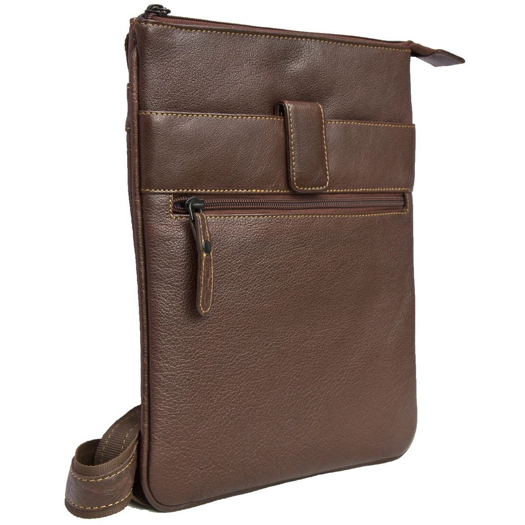 Woodland Leathers Cross Body Messenger Bag - Equestrian Co. - 2