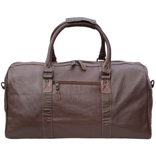 Woodland Leathers Tribe Buffalo Leather Holdall