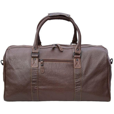 Woodland Leathers Tribe Buffalo Leather Holdall - Equestrian Co. - 1