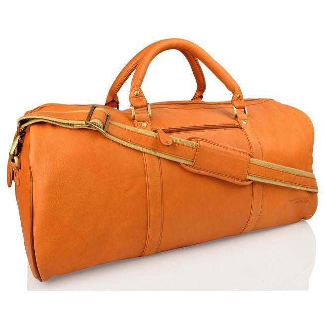 Woodland Leather Large Weekend Travel Bag/Holdall-Equestrian Co.