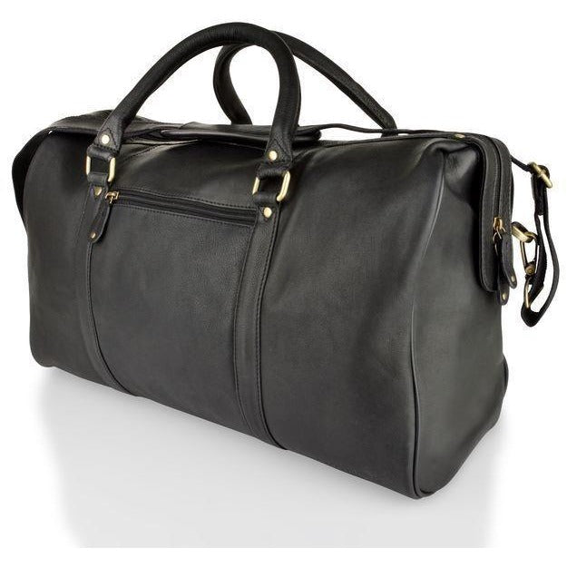 Woodland Leather Soft Cabin Leather Holdall (Multiple Colours)-Equestrian Co.