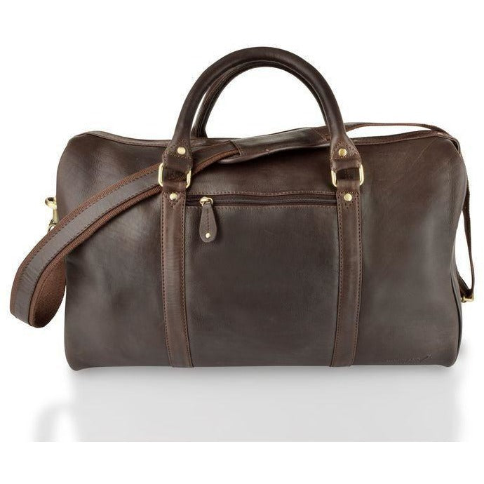 Woodland Leathers Soft Cabin Leather Holdall (Multiple Colours)