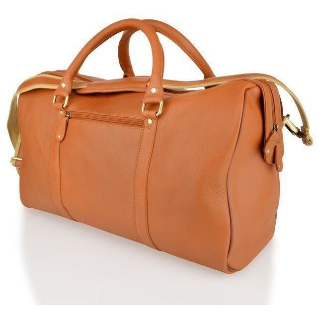 Woodland Leathers Soft Cabin Leather Holdall (Multiple Colours) - Equestrian Co. - 4
