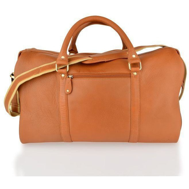 Woodland Leathers Soft Cabin Leather Holdall (Multiple Colours) - Equestrian Co. - 3