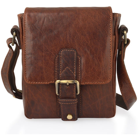 Woodland Leathers Mahogany Shoulder Bag - Medium