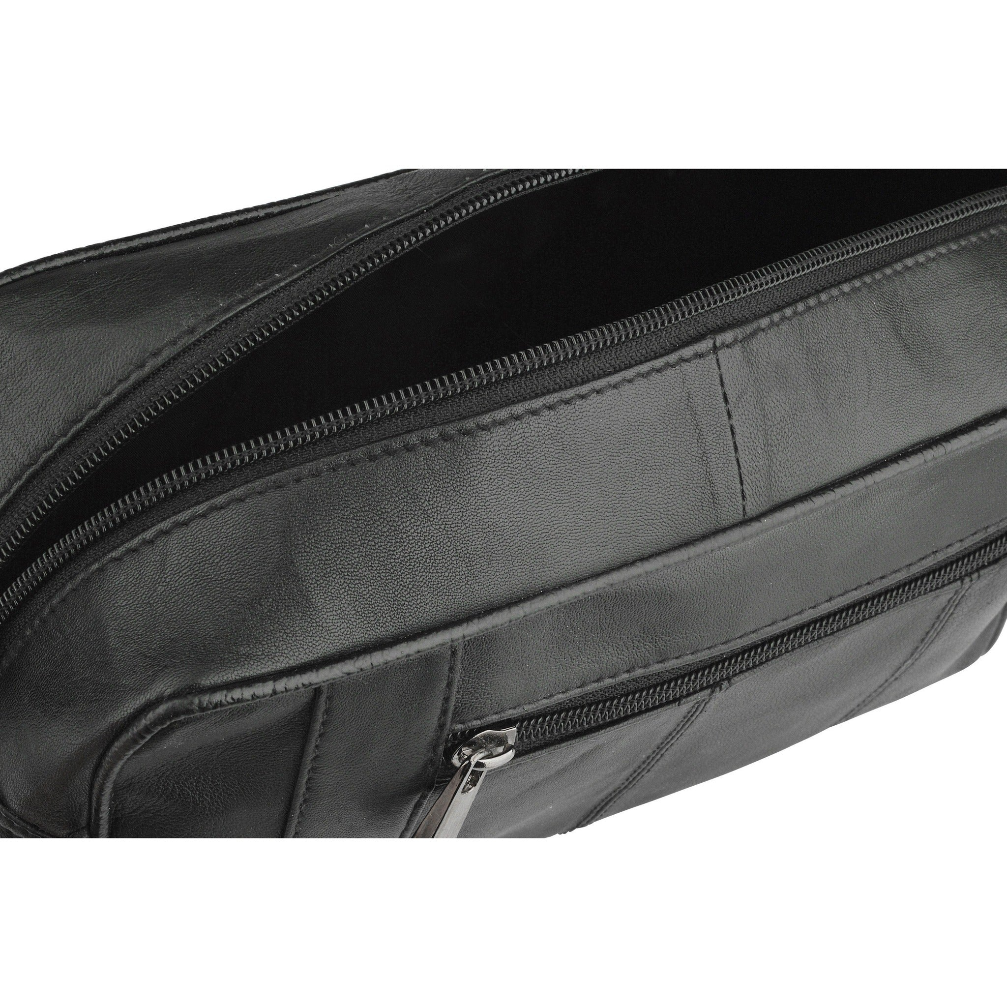55e2274c316f Woodland Leather Black Leather Essential Wash Bag-Equestrian Co. Woodland  Leather Black Leather Essential Wash Bag-Equestrian Co.