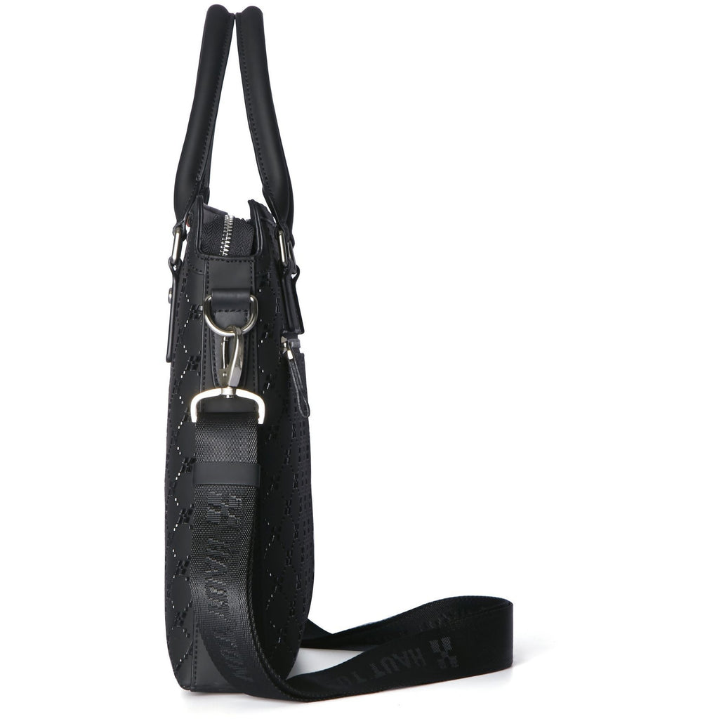 Hautton Unisex Leather Messenger / Tote Bag-Equestrian Co.