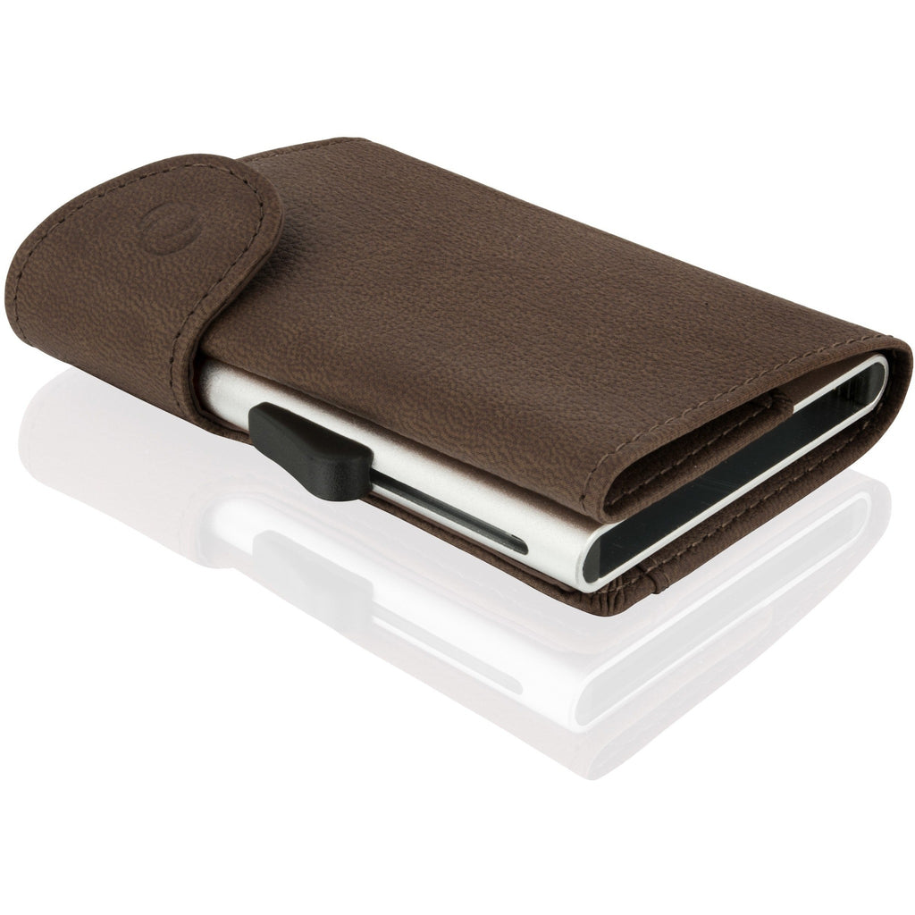 C-Secure Men's Leather RFID Secure Flip Up Wallet-Equestrian Co.