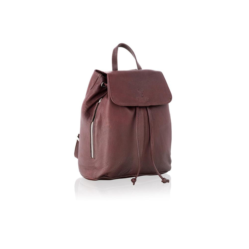 Woodland Leather Women's Small Leather Rucksack / Backpack